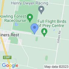 Ballarat Turf Club map