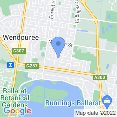 Peter Ford Catering map