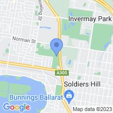 North Ballarat Sports Club Inc. map