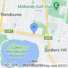 Furniture Contracts Ballarat map