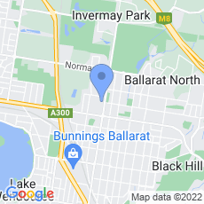 Ballarat Taxis Limited map