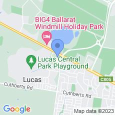 Ballarat Community Health map