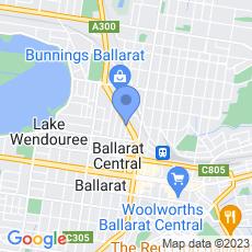 Ballarat Veterinary Practice map