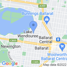 Lake Wendouree Luxury Apartments map