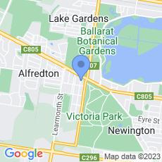 Oak Tree Ballarat Dental map