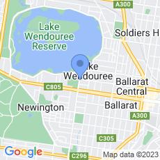 City Oval Hotel map