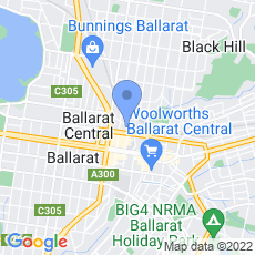 Child & Family Services Ballarat Inc. (CAFS) map