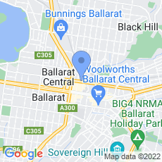 Ultra Tune Ballarat map