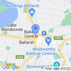 IneXterior Cafe Ballarat map