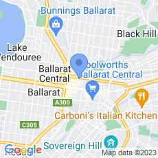 Radio Ballarat map