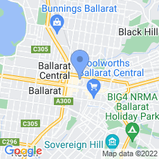 Art Gallery of Ballarat map