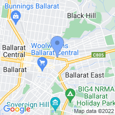 Ballarat Leagues Club map