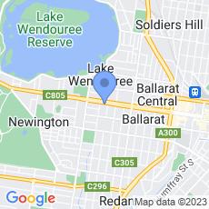 Jellis Craig Ballarat map