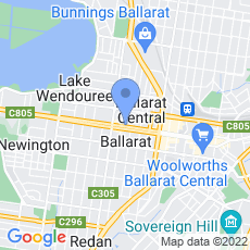 Aldon Tutoring Centres Ballarat map