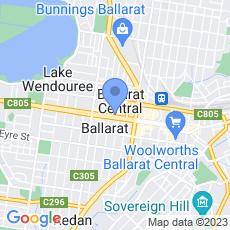 Professionals Ballarat map