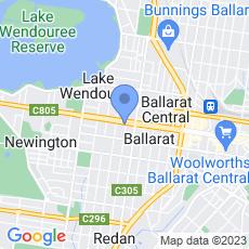 National Australia Bank map