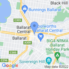 Ballarat International Foto Biennale map