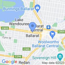 UFS Dispensaries - Sturt Street  map