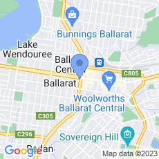 Bendigo Bank - Ballarat Central map