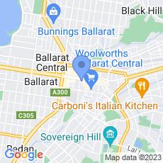 Grill'd Ballarat map