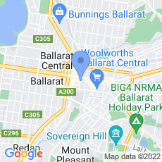 Her Majesty's Ballarat map