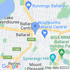 IPN Valuers Ballarat map