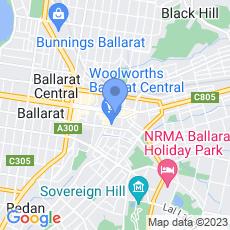 Clinica Lase Ballarat map
