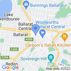 Ray White Ballarat map
