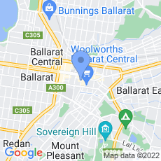 Ballarat Steakhouse map