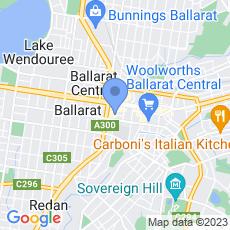 Mortgage Choice Ballarat map