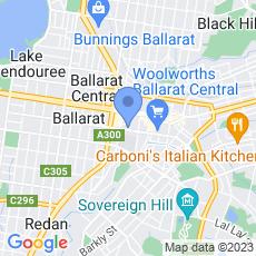 Bartrop Real Estate map
