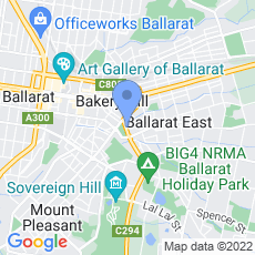 Mercedes-Benz Ballarat map