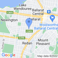 Ballarat Hospice Care Inc map