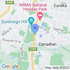Mercure Ballarat Hotel and Convention Centre map