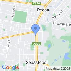 UFS Dispensaries - Sebastopol map