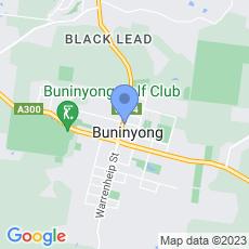 Bendigo Bank - Buninyong map